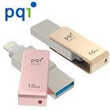 【PQI】 iConnect mini iOS專用USB3.0 極速多媒體行動碟 16GB