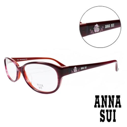 ANNA SUI 薔薇 眼鏡 紅色 AS620~209