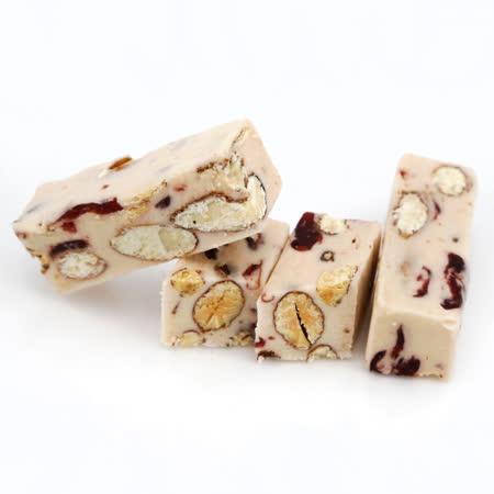 【六度本舖】手工SPA揉糖工法系列 蔓越莓杏仁牛軋糖(250g)