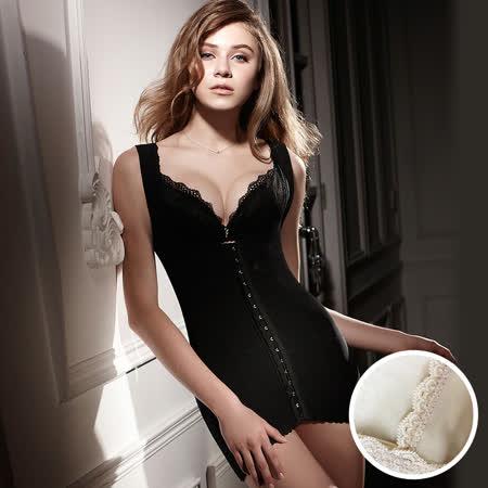 【LADY】纖體塑身系 重機能美型束裙(膚色)