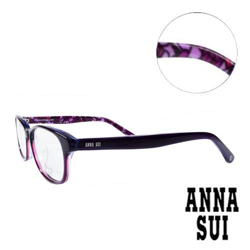 ANNA SUI 浪漫薔薇花園 眼鏡 紫色 AS616~1~706