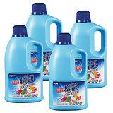 【LION藍寶】增豔漂白水2000mlX4瓶