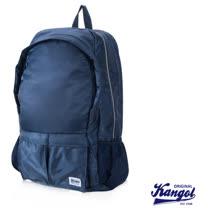 KANGOL 英式時尚輕時尚休閒13吋筆電後背包防潑水尼龍-寶藍KG1115-08