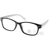 ALAIN DELON眼鏡 時尚百搭款(黑-銀) #AD20307 BS1