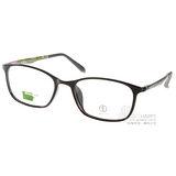 ALAIN DELON眼鏡 休閒簡約款(黑-迷彩綠) #AD20323 B3