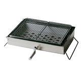 日本 Snow Peak IGT 不鏽鋼可調整雙口烤肉爐(Large BBQ-Box)節能省碳燒烤架.烤肉聚餐 CK-160