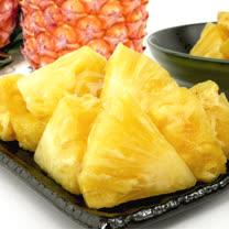 【果之家】嚴選金鑽鳳梨10台斤(約4-6顆)