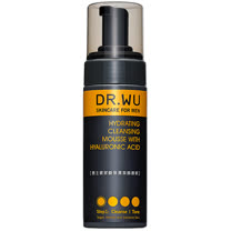 DR.WU 男士玻尿酸保濕潔顏慕斯