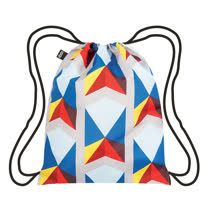 LOQI 束口後背包│三角形 BPGETR