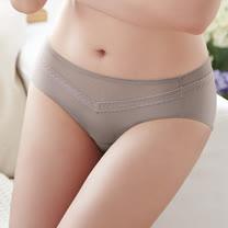蕾黛絲-挺素面-涼感高脅邊平口褲 M-EL(可可膚)