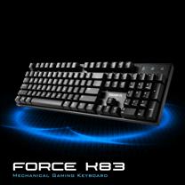 技嘉 GIGABYTE FORCE K83 機械式遊戲鍵盤