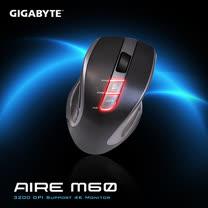 技嘉 GIGABYTE AIRE M60 無線滑鼠 3200DPI 支援4K螢幕