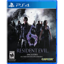 普雷伊 PS4 惡靈古堡 6 亞洲英文版
