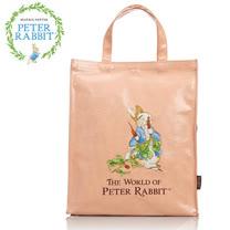 【クロワッサン科羅沙】Peter Rabbit~ 比得兔吃紅蘿蔔手提袋大 粉色