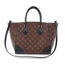 Louis Vuitton LV M41542 Phenix MM 經典花紋兩用仕女包.黑_預購