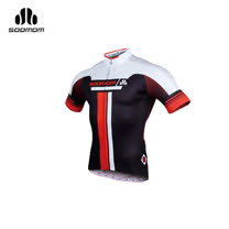 (男) SOOMOM 速盟 佐羅短車衣-單車 自行車 白黑紅