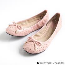 BUTTERFLY TWISTS - GRACE可折疊扭轉芭蕾舞鞋-淡粉紅