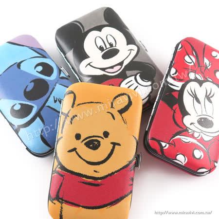 Disney 指甲剪6件組套裝/美甲修容組/指甲修護工具