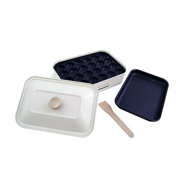 绿恩家enegreen日式多功能烹调电烤盘(珍珠白)KHP-770T