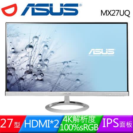 ASUS 華碩 MX27UQ 27型AH-IPS 4K內建藍芽喇叭液晶螢幕