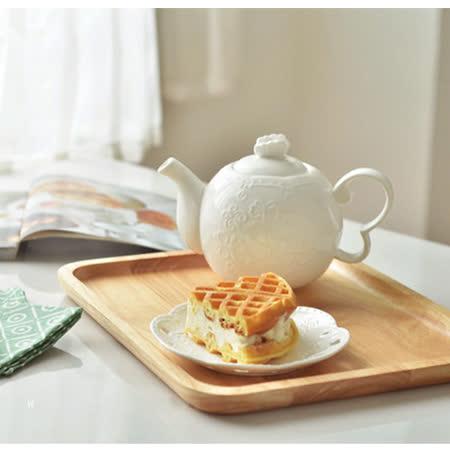 【Homely Zakka】木趣食光木質方型大托盤/餐盤/茶盤 (大長方34*22)