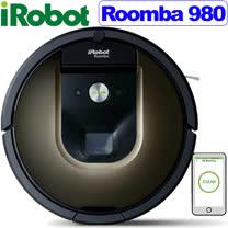 【全台最新2017/4/3製造01版軟體登台 還在買庫存貨嗎?】美國iRobot第9代Roomba 980WiFi+APP 帝王級機器人掃地吸塵器
