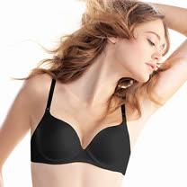 【黛安芬】身體底妝輕薄透T-Shirt胸罩B-C罩杯內衣(黑)