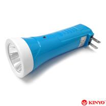【KINYO】掀燈2in1充電式手電筒(LED-302)