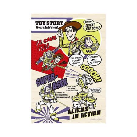 【日本YANOMAN】迪士尼木製拼圖-玩具總動員 99pcs YM99-380