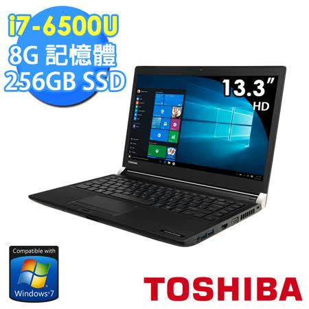 TOSHIBA R30-C-0KM00N 13.3吋 i7-6500U 256GSSD Win7專業版 輕薄筆電★贈原廠筆電包+原廠滑鼠