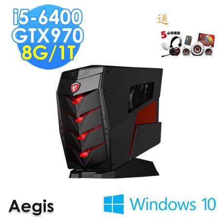 【msi微星】Aegis-011TW i5-6400 GTX970 WIN10(電競桌機)
