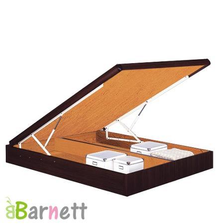 Barnett-雙人5尺尾掀床架(五色可選)