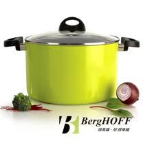 【比利時BergHOFF焙高福】3ECLIPSE綠雙耳湯鍋24CM 6.6L
