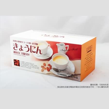 【御廚膳品】潤喉杏仁茶600g(無糖口味,隨身包30入)