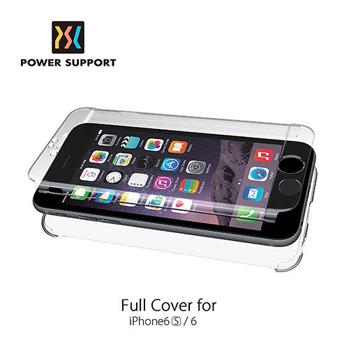 POWER SUPPORT iPhone6 6s Air jacket 超薄全包覆式保護殼