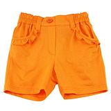【愛的世界】MYBABY 水果百匯系列純棉橙色短褲/4~8歲-台灣製-