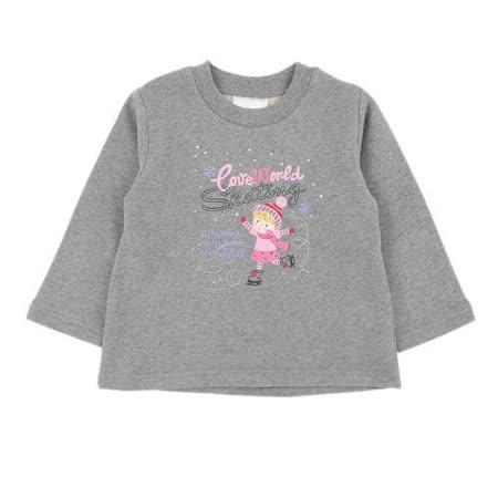 【愛的世界】MY BEAR 第一雙溜冰鞋系列純棉厚感圓領T恤/2~4歲-台灣製-