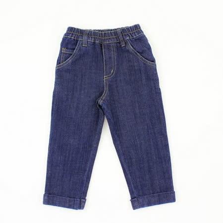 【愛的世界】MYBABY 小熊兄弟系列休閒鬆緊帶牛仔褲/2~4歲-中國製-
