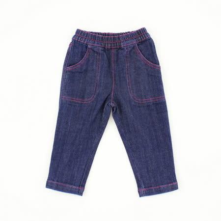 【愛的世界】MYBEAR 第一雙溜冰鞋系列休閒鬆緊帶牛仔褲/1~4歲-中國製-
