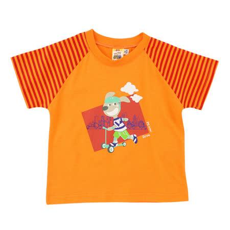 【愛的世界】MYBABY 快樂的朋友系列純棉印圖T恤/1~3歲-台灣製-