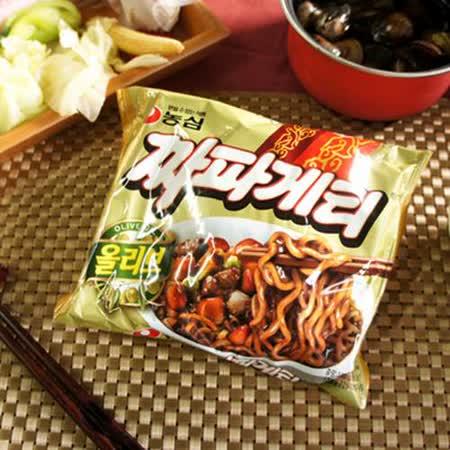 【農心】浣熊炸醬風味拉麵