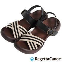 RegettaCanoe _(女款)CJEG-5221優雅樂步休閒鞋-經典黑
