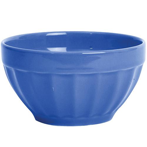 ~EXCELSA~Fashion直紋陶餐碗 藍14cm