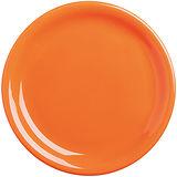 《EXCELSA》Fashion陶製淺餐盤(橘19.5cm)