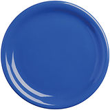 《EXCELSA》Fashion陶製淺餐盤(藍19.5cm)