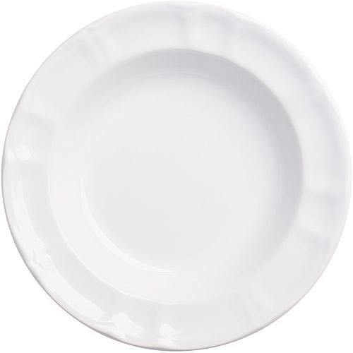 ~EXCELSA~Chic陶製深餐盤 白22cm