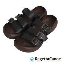 RegettaCanoe _(男款)CJTR-5406優雅樂步休閒鞋-經典黑