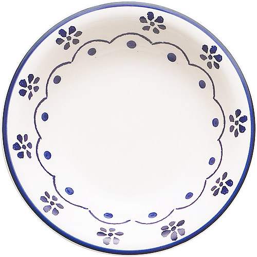 ~EXCELSA~陶製濃湯碗 花繪21cm