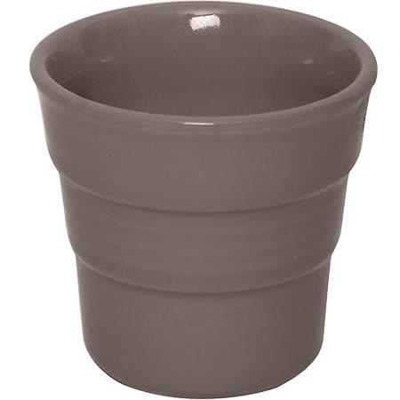 《EXCELSA》階紋手握咖啡杯(深褐)