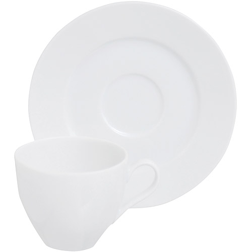 ~EXCELSA~Bolko瓷製咖啡杯碟組 白80ml